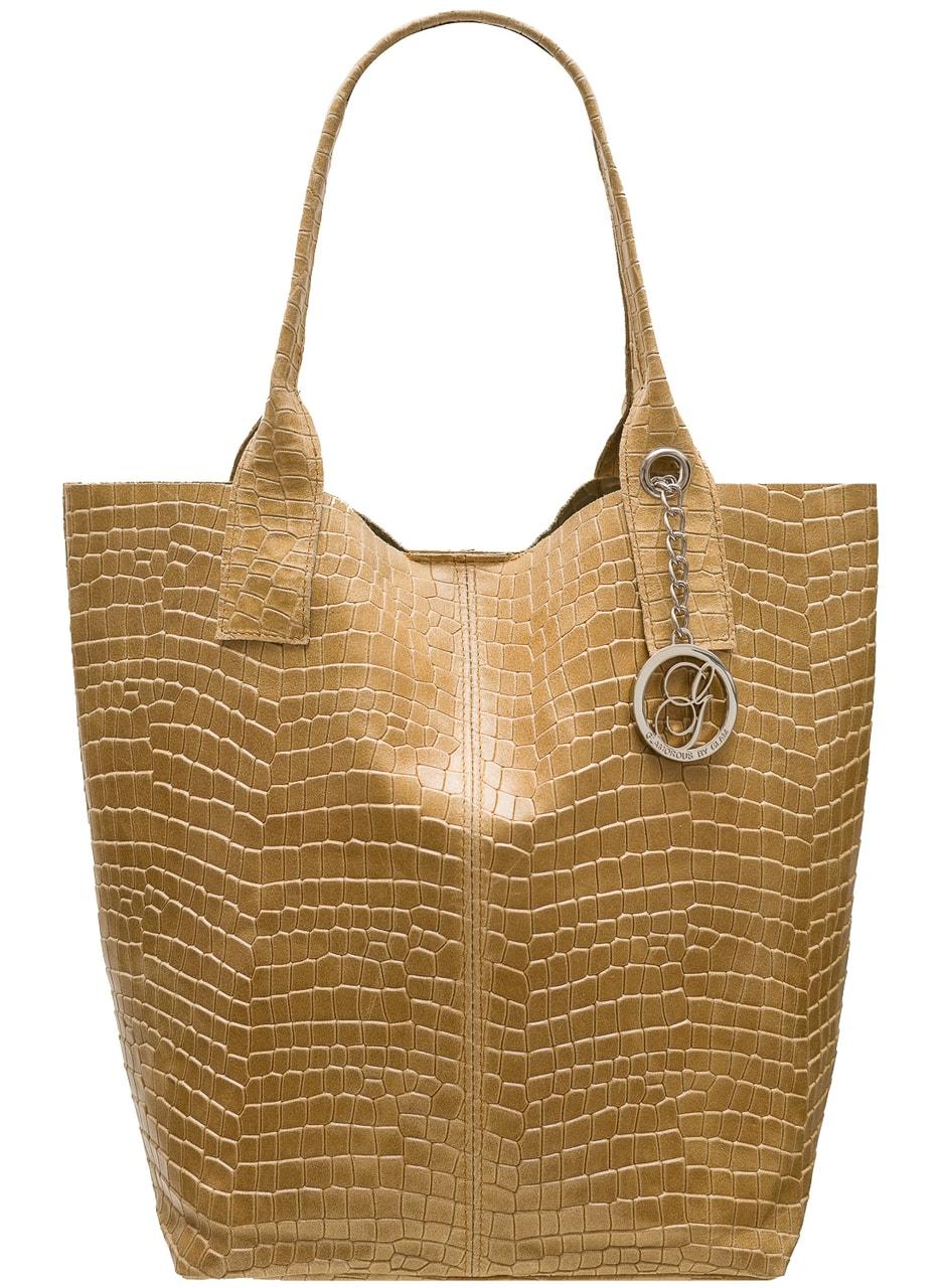 580402436985 Glamadise - Italian fashion paradise - Women's real leather shopper ...