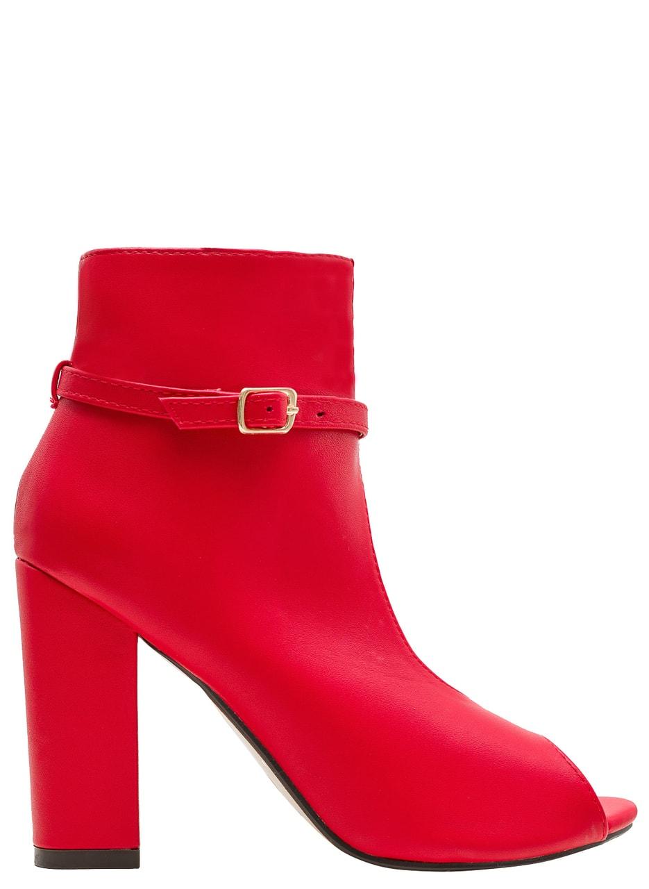 5d91e79e4f Dámská kotníková obuv červená - GLAM GLAMADISE shoes - Sandály ...
