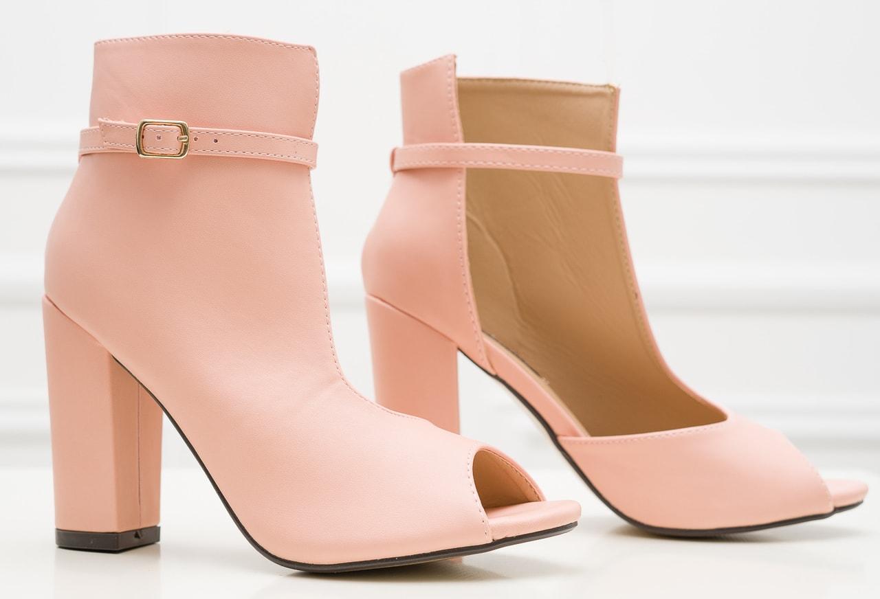 fb18dff48302 Glamadise.sk - Dámska členková obuv svetlo ružová - GLAM GLAMADISE ...