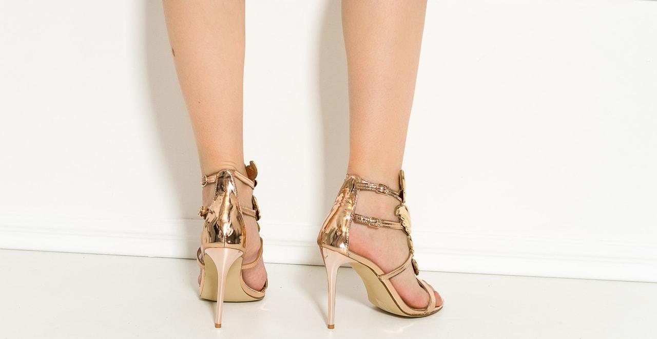 eafd7ef14aaa2 Zlaté Glam amp;glamadise Dámské Shoes Exkluzivní Sandály WIE29HeDY