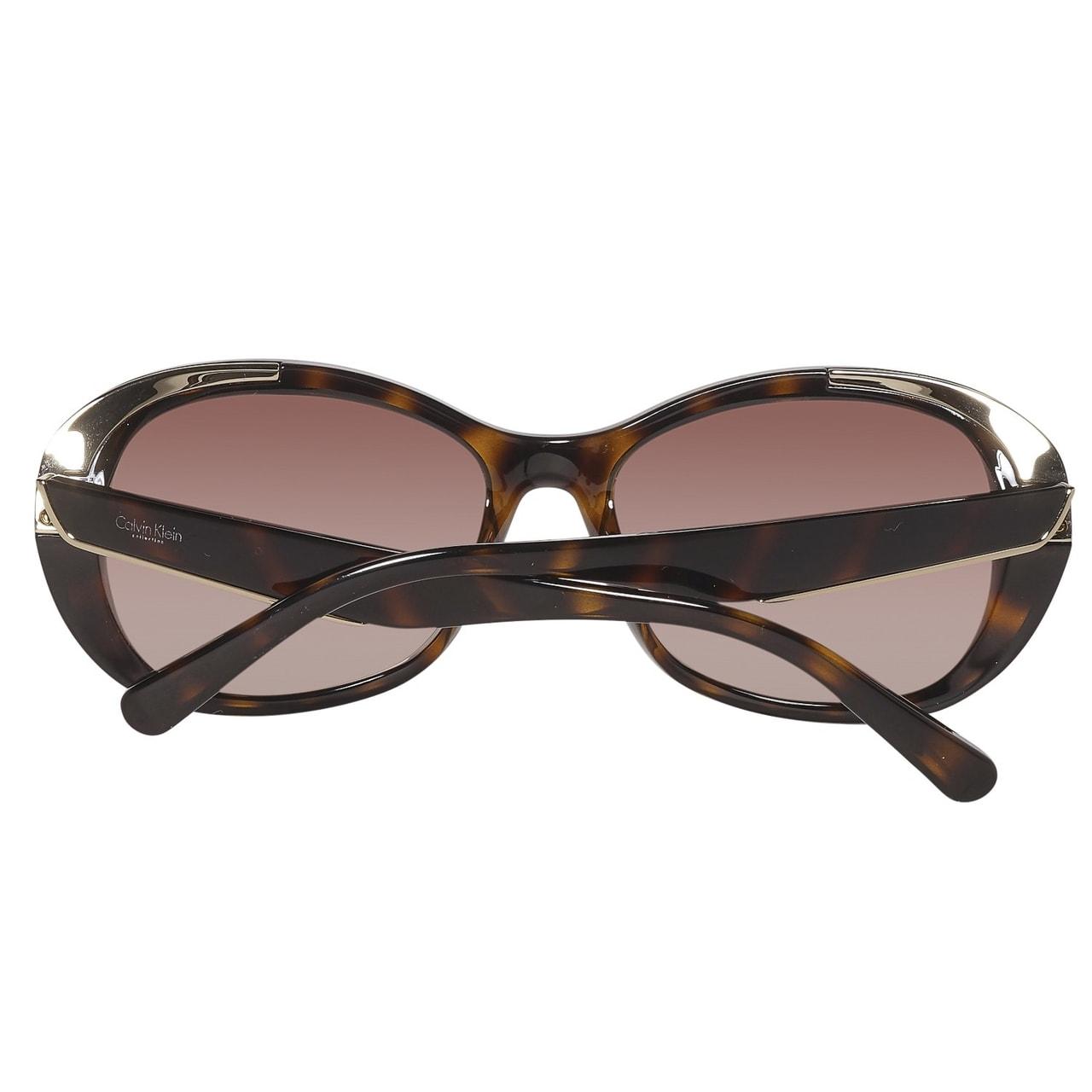 c4f157460 Glamadise.sk - Calvin Klein havana slnečné okuliare - Calvin Klein ...