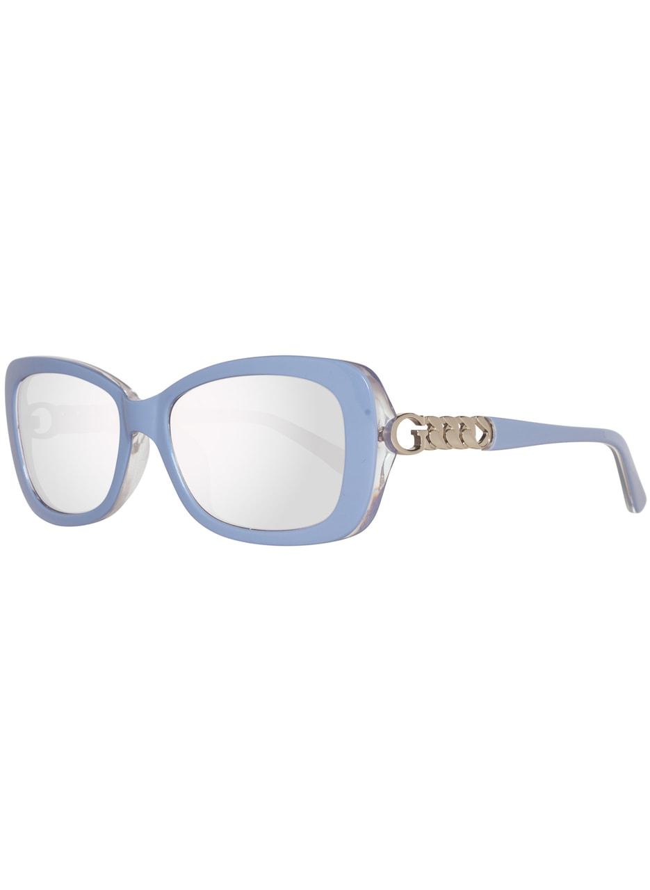 0956844cf Glamadise.sk - Guess slnečné okuliare modré - Guess - Dámske slnečné ...