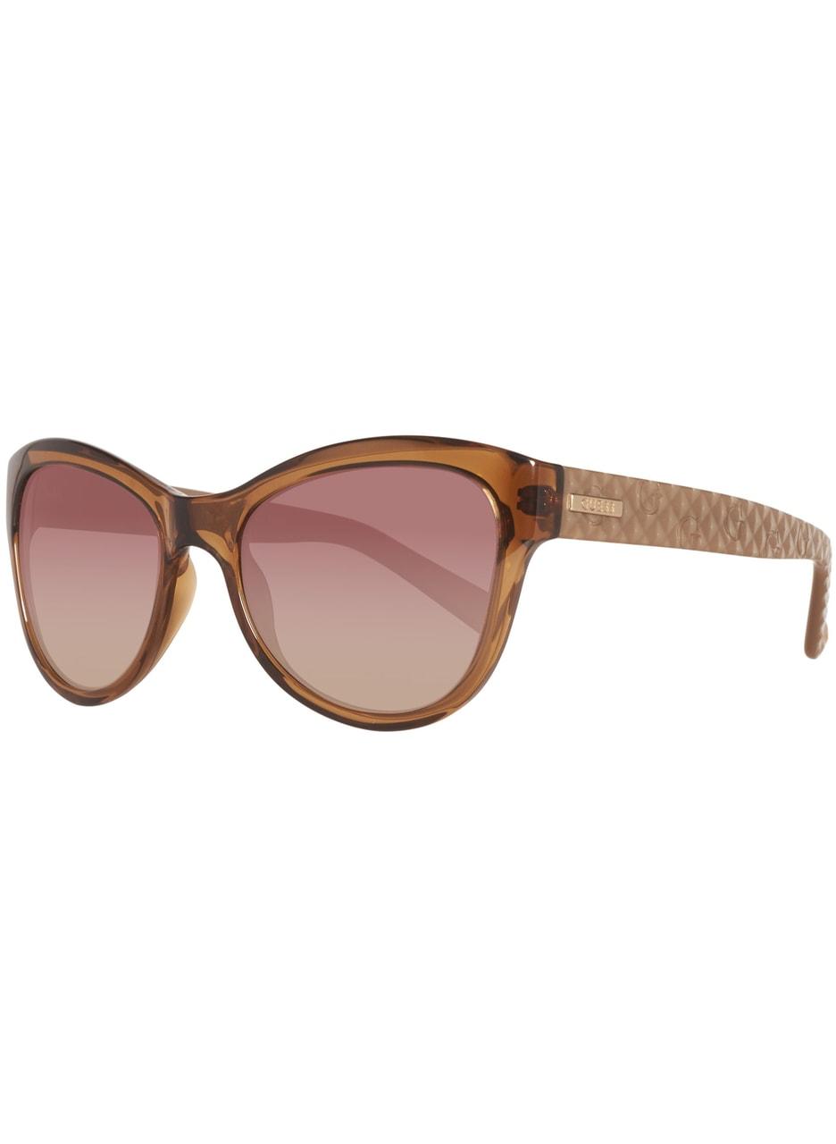 8724ac1bf Glamadise.sk - Guess slnečné okuliare hnedé - Guess - Dámske slnečné ...