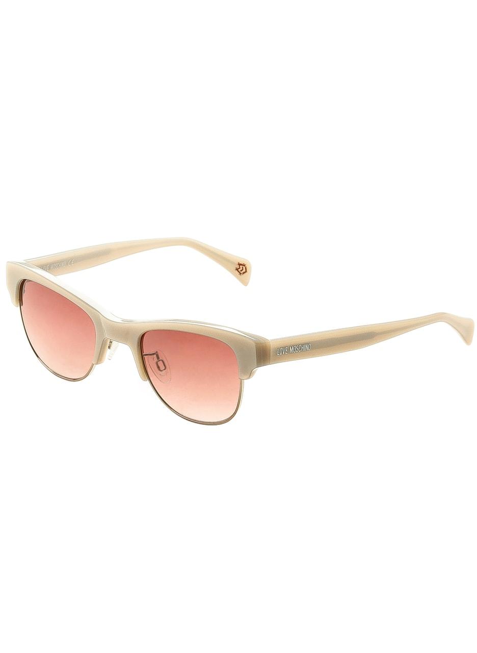 5aea65dfc Glamadise.sk - Moschino slnečné okuliare béžové - Moschino - Dámske ...