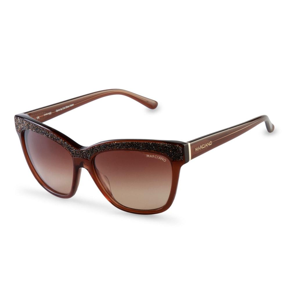 0ce30a072 Glamadise.sk - Guess by Marciano hnedé slnečné okuliare - Guess by ...