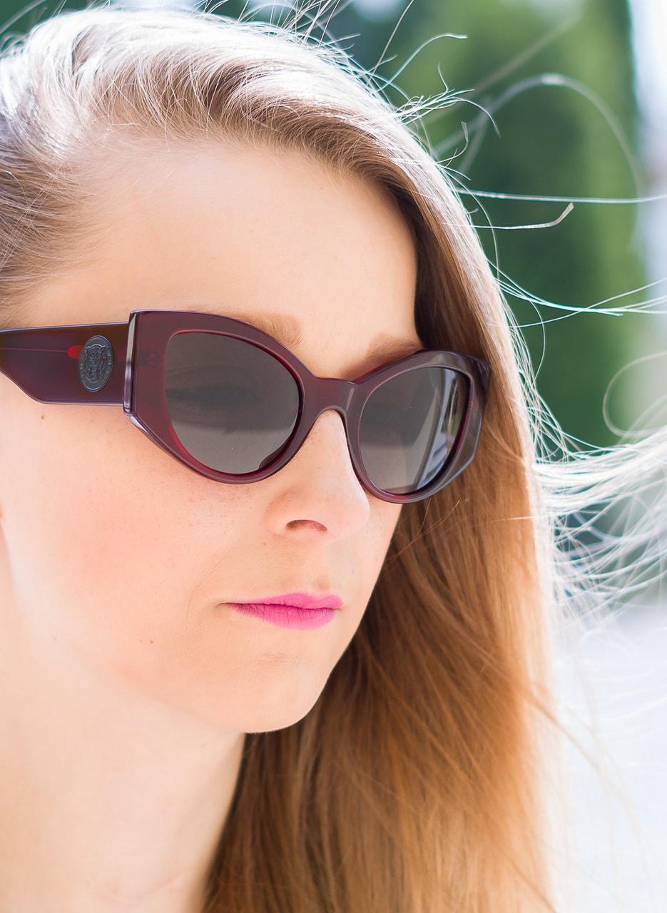 081c188ce Glamadise.sk - Kenzo Paris slnečné okuliare bordó - Kenzo - Dámske ...
