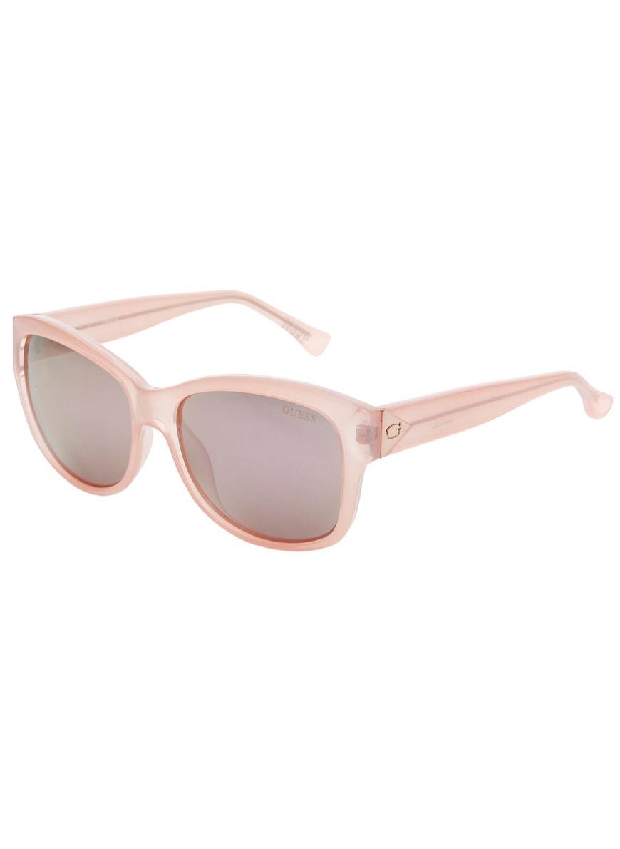82d3d03f3 Glamadise.sk - Guess slnečné okuliare ružové - Guess - Dámske ...