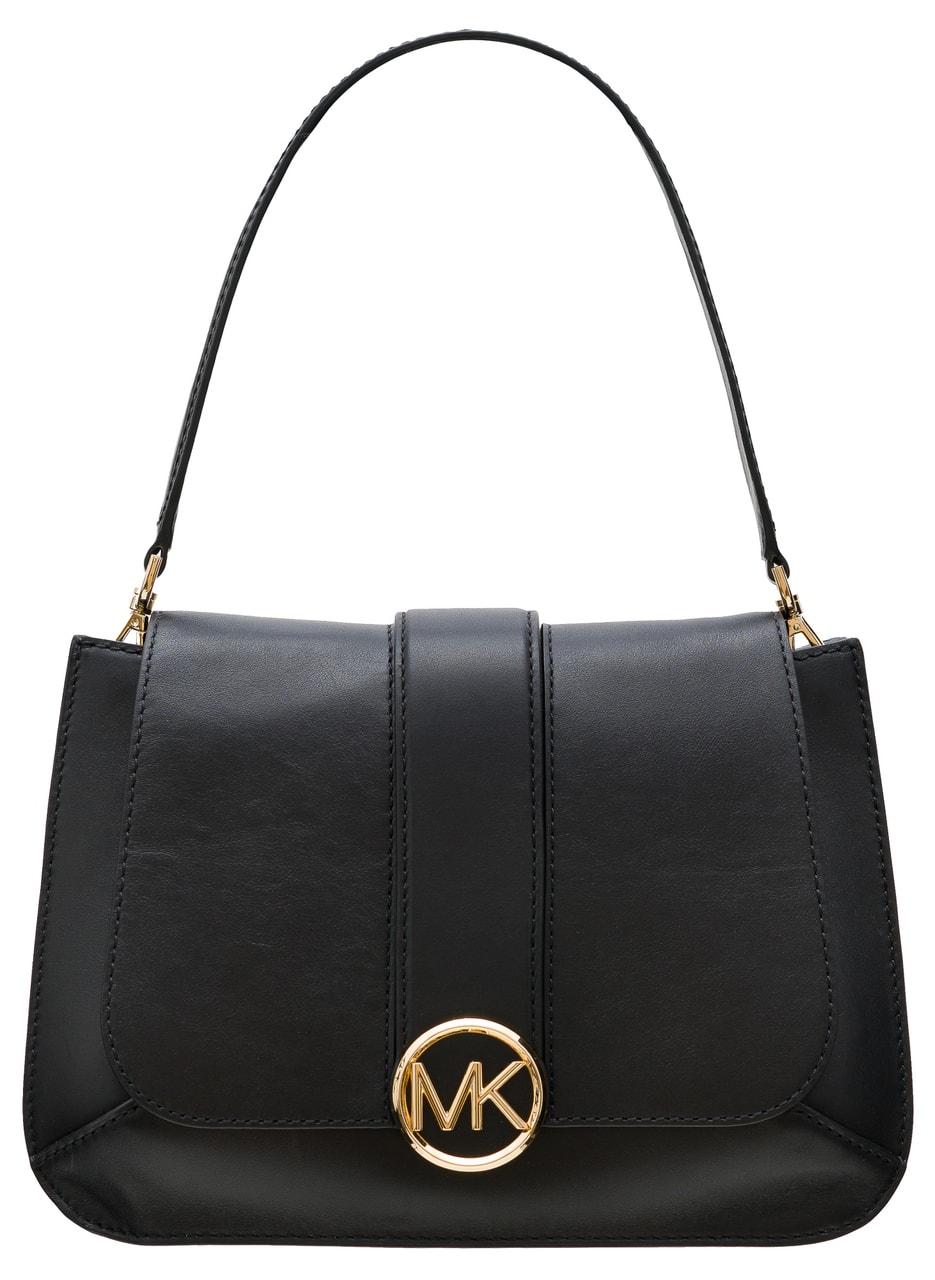 1c0519328a Glamadise.sk - Michael Kors kožená kabelka černá - Michael Kors ...