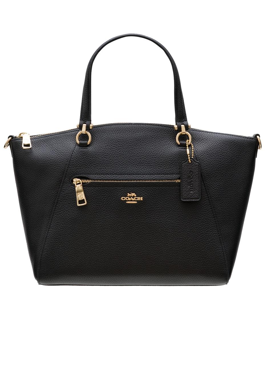 ba3653f58d Glamadise.sk - Coach dámská kožená kabelka do ruky černá - Coach ...