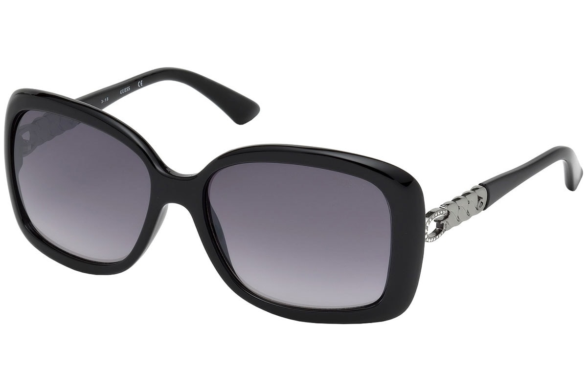 62d0c4276 Guess dámské sluneční brýle černé · Guess by Marciano slnečné okuliare  čierne