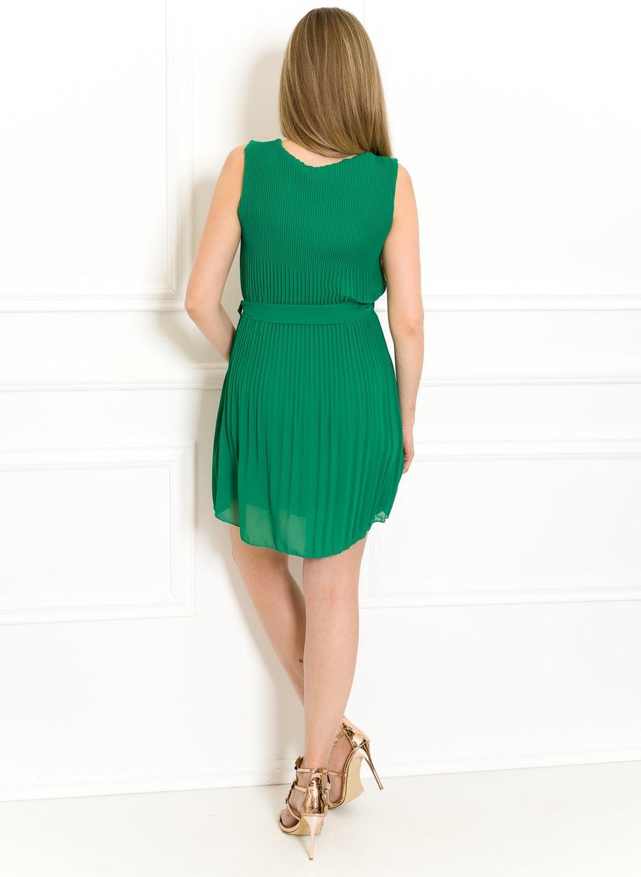 43b8b1333aaa Glamadise.sk - Šifonové letní šaty zelené plizované - Glamorous by ...