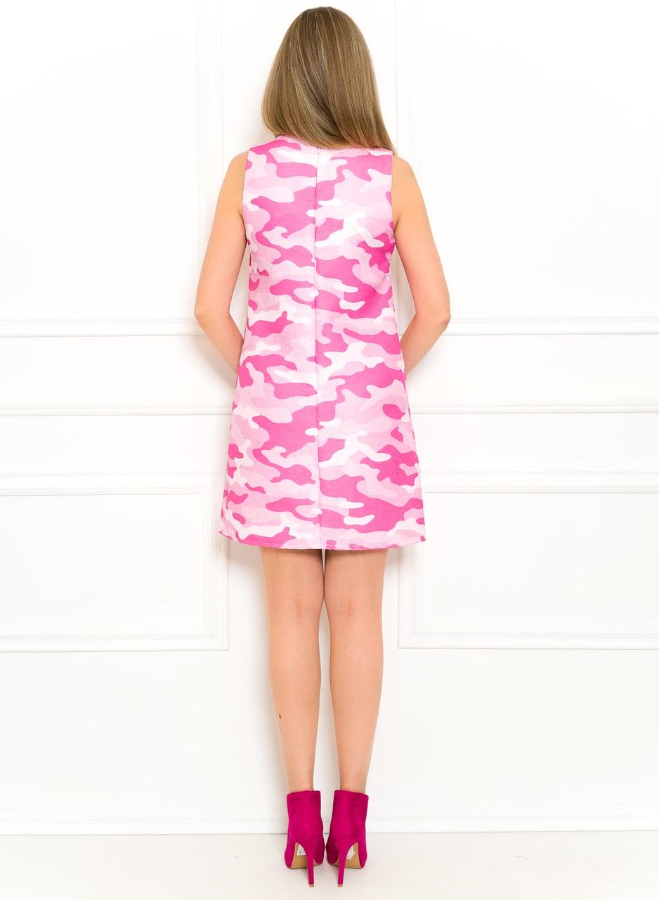 87150e423747 Glamadise.sk - Exkluzivní šaty růžová army - Glamorous by Glam ...