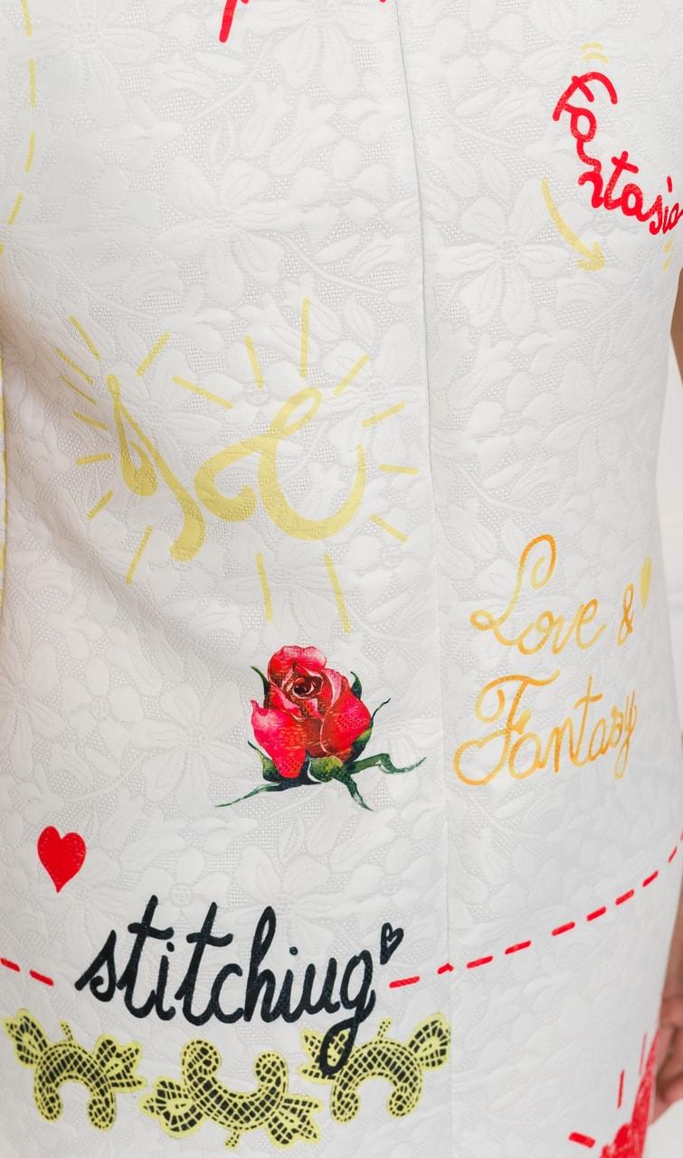 7c2259c60a75 Glamadise.sk - Exkluzivní šaty bílé Amore - Glamorous by Glam - Šaty ...