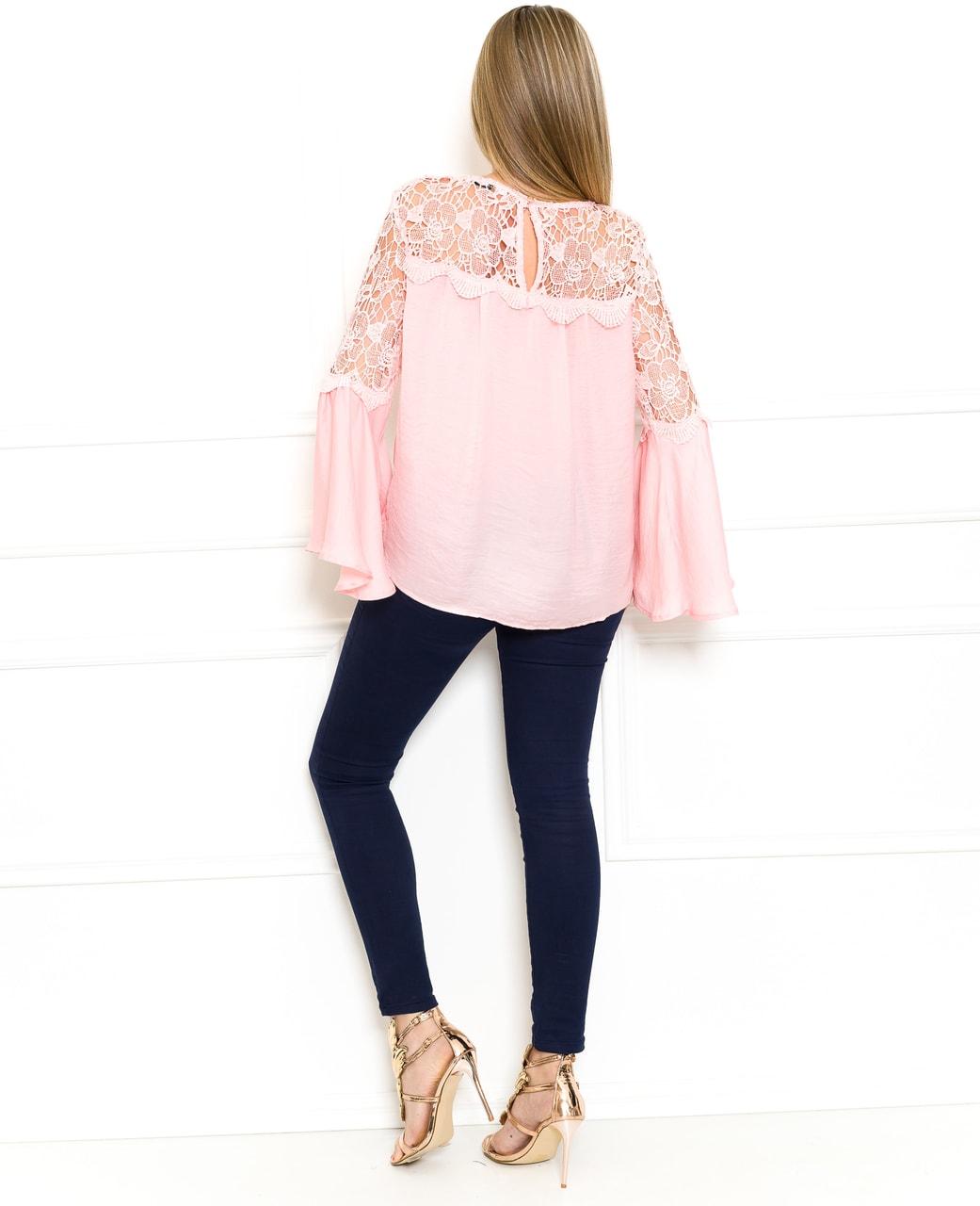 72b4755eba2c Glamadise.hu Fashion paradise - Női top - Rózsaszín - Blúzok - Női ...