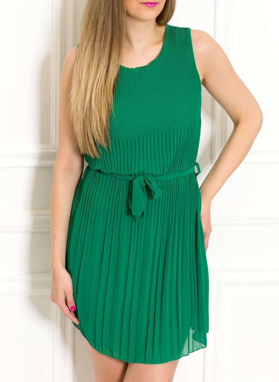 b5ff32a59094 Šifonové letní šaty zelené plizované - Glamorous by Glam - Letní ...