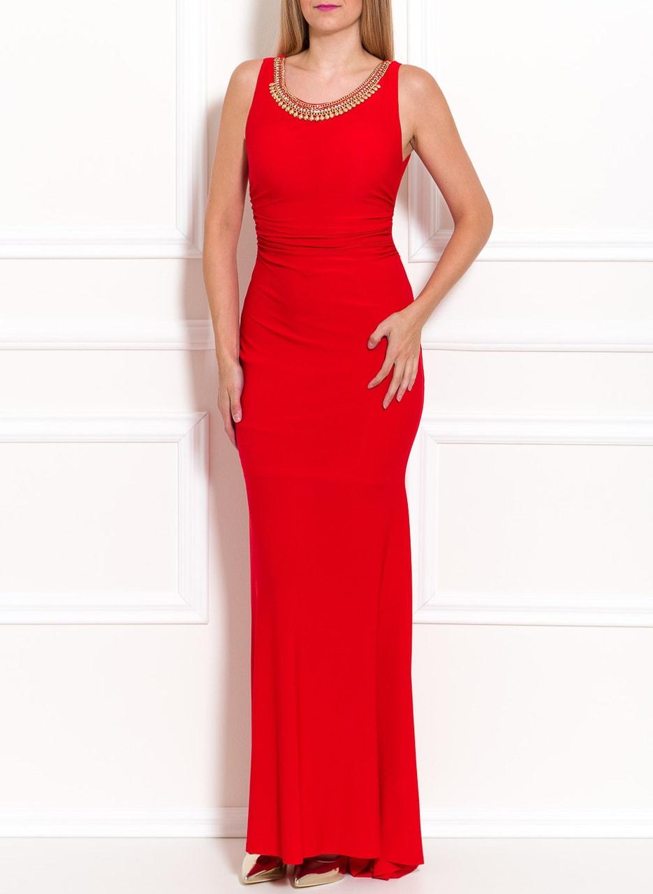 43cf412f70 Glamadise.hu Fashion paradise - Női hosszú ruha Due Linee - Piros ...