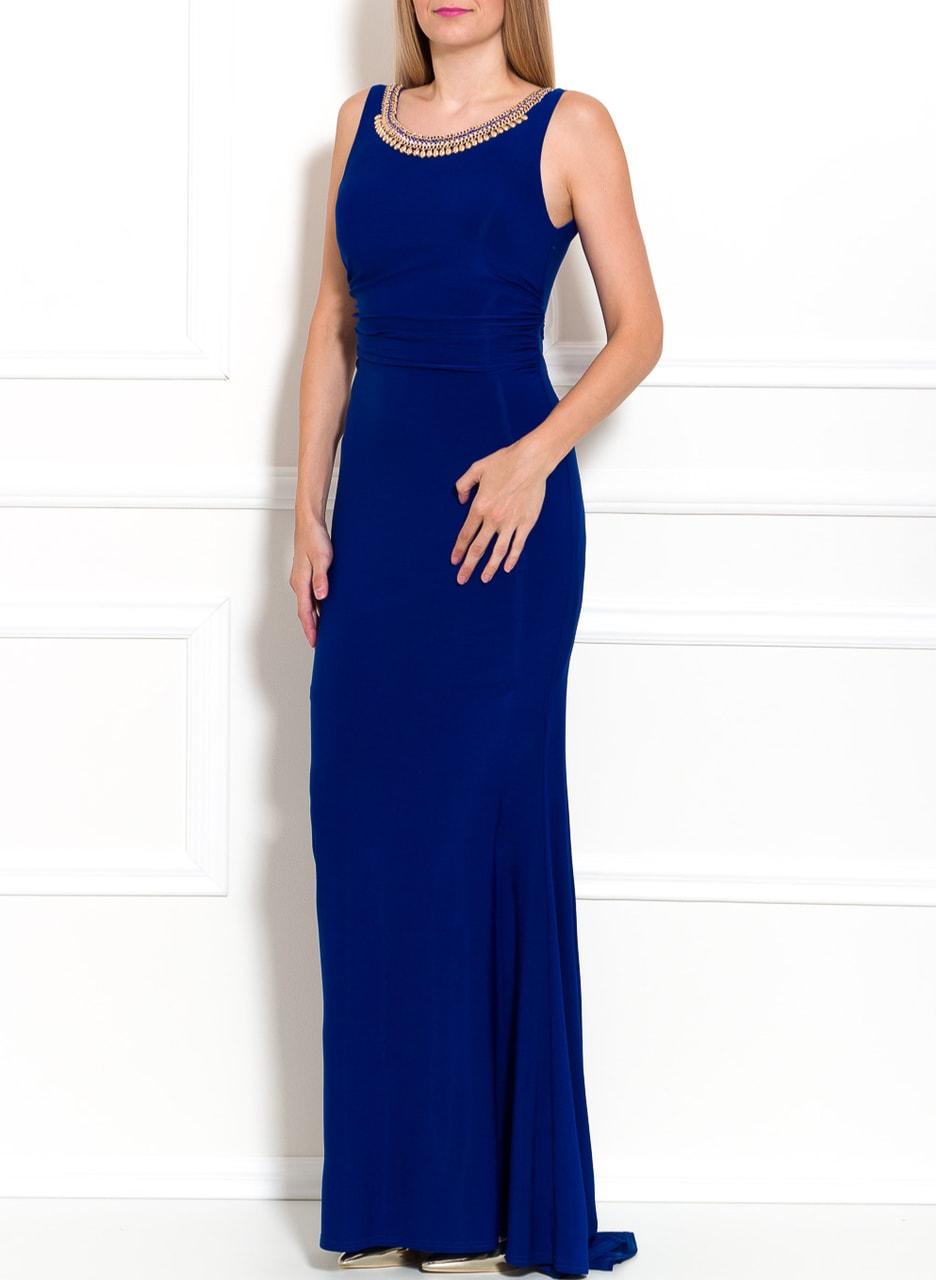 d0e04592fe Glamadise.hu Fashion paradise - Női hosszú ruha Due Linee - Kék ...