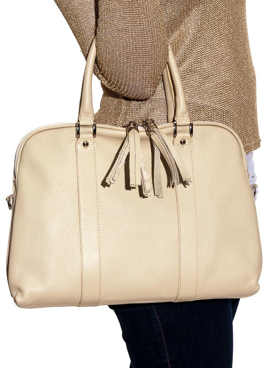 ef96d401f0 Glamadise.sk - Dámska kožená kabelka biela - Glamorous by GLAM ...