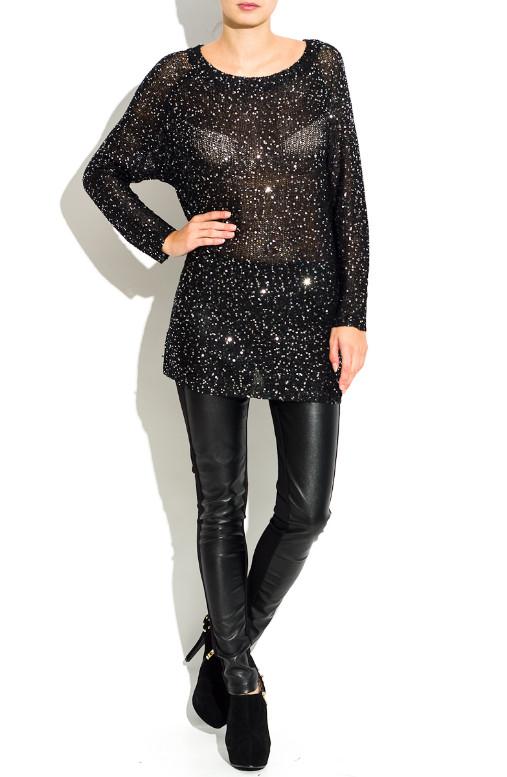 fa2071318f Glamadise.hu Fashion paradise - Női szvetter Milliana Paris - Fekete ...