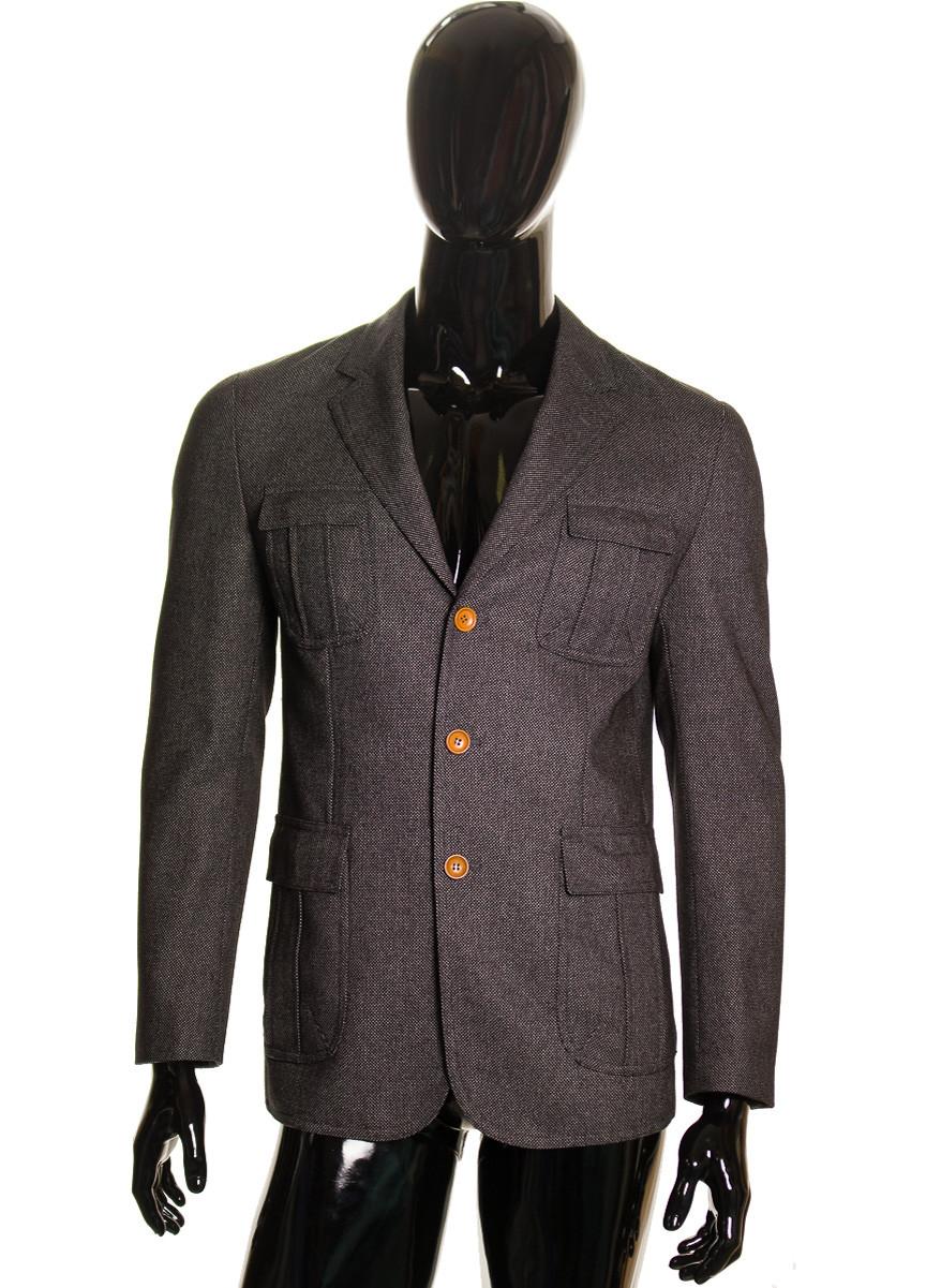 133e999b55 Pánská sako bunda šedá - Bundy a kabáty - Bundy