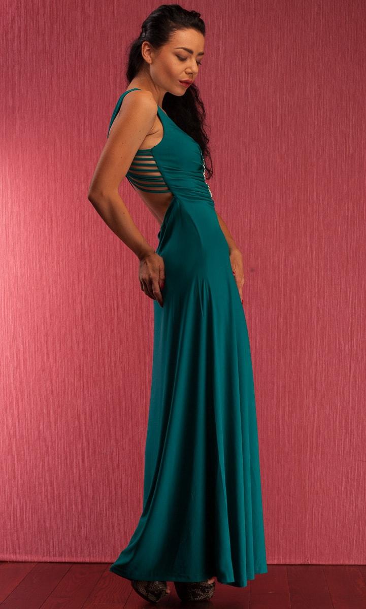 1643366e023b Glamadise.sk - Spoločenské dlhé šaty so štrasovým doplnkom ...
