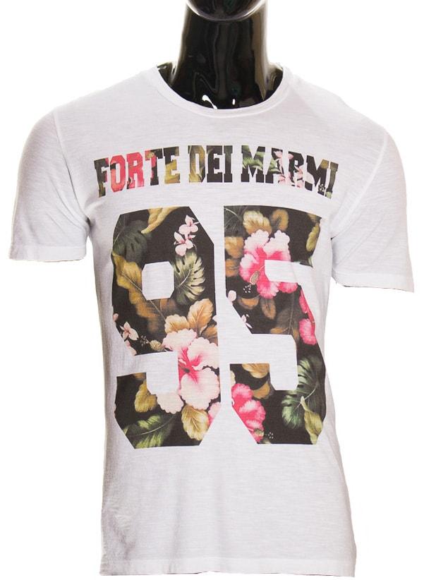 4bfc08f230da Glamadise.sk - Pánske biele tričko s potlačou - Glamorous by Glam ...