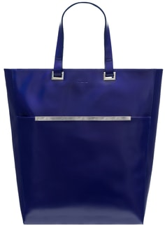 Real leather shoulder bag Guy Laroche Paris - Blue
