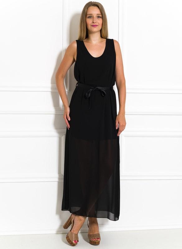 de433f415901 Glamadise.sk - Dlhé šaty čierne šifónové - Glamorous by Glam - Letní ...