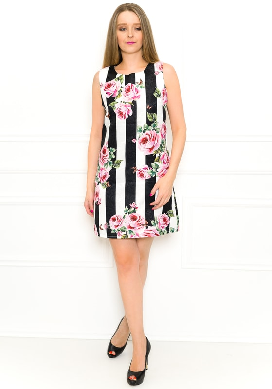 05282b7d8cf4 Glamadise.sk - Exkluzivní dámské šaty pruhované - Glamorous by Glam ...