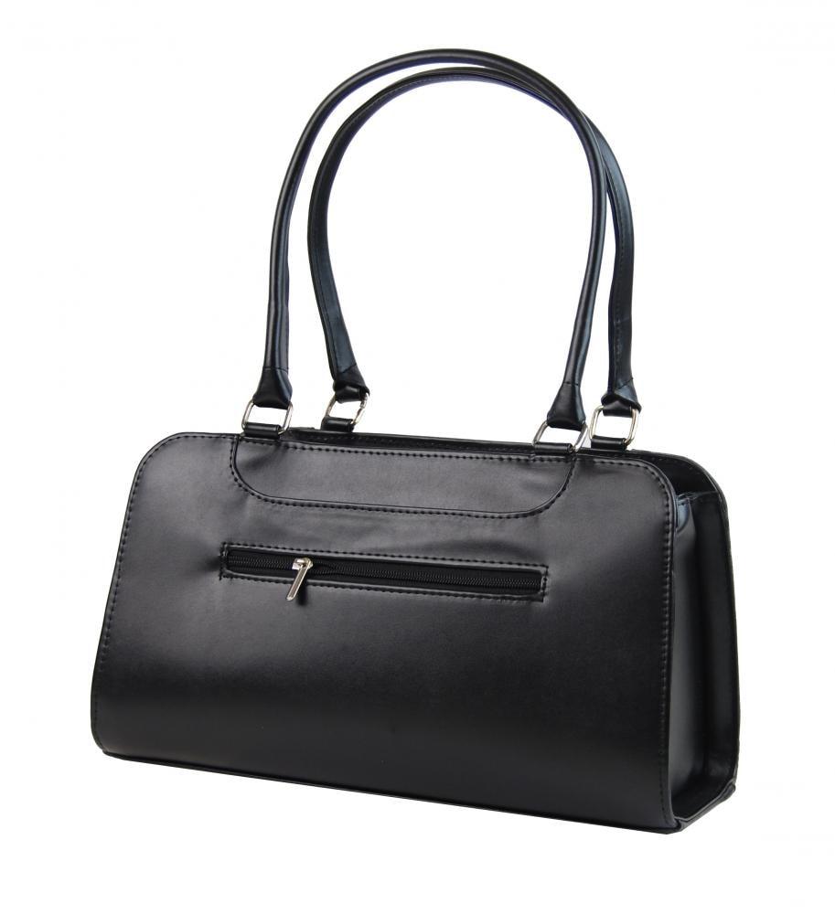 800cdd361d Koňakově hnědá kožená dámská kabelka do ruky Patrizia Piu