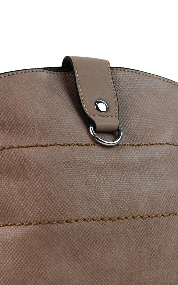 f44911f95c Béžová dámská textilní crossbody kabelka H16175
