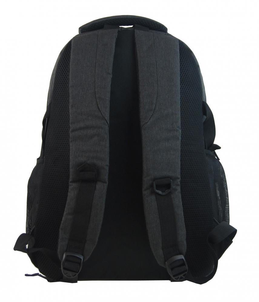 02165b0604 ... New Berry Elegantní polstrovaný školní batoh L18105 černý ...