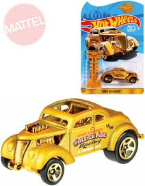 HOT WHEELS Auto angličák zlatý model 1:64 Pass n Gasser kov