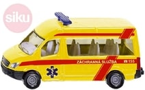 Auto Mercedes-Benz Sprinter Záchranná Služba ČR ambulance model 1083