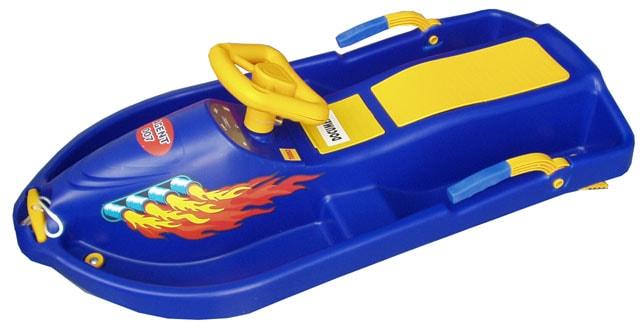 2debaf09c7 Acra Snow Boat řiditelný bob A2035 - modrý