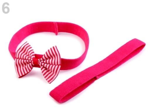 13169c4e4c7e Dětská elastická čelenka do vlasů
