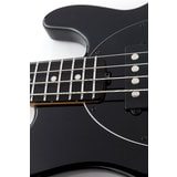 MusicMan Stingray 4 Special HH - Black color - Black pickguard - Roasted javorový krk