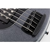 MusicMan Stingray 5 HH Special Charcoal Sparkle, Roasted Maple Neck, Ebony Fingerboard