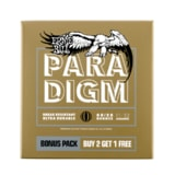 3328 ERNIE BALL PARADIGM LIGHT 80/20 BRONZE .011 -.052  2+1 ZDARMA BONUS PACK ACOUSTIC GUITAR STRINGS