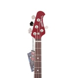 MusicMan Stingray 4 Special H - Candy Red - Rosewood hmatník - Shell Pickguard