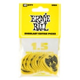 9195 Ernie Ball Everlast Picks Yellow 1.5mm - kytarová trsátka 1ks