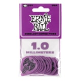 9193 Ernie Ball Everlast Picks Purple 1.0mm - kytarová trsátka 1ks