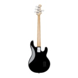 Sterling by MusicMan SUB StingRay4 Black Left Hand - černá levoruká basa