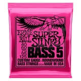 2824 Ernie Ball Super Slinky 5-string Bass Nickel Wound .040 - .125