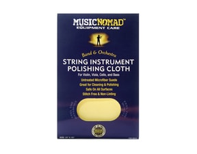 MusicNomad MN731 String Instrument Microfiber Polishing Cloth for Violin, Viola, Cello & Bass