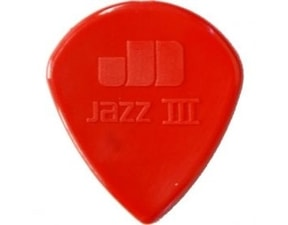 Dunlop Jazz III Nylon 1.38mm - červená