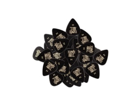 9124 Ernie Ball série SIDEMAN Heavy 0.94mm Black Celluloid Picks -  černé, silné , celuloidové 1ks