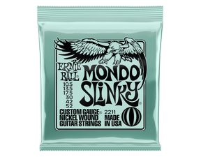 2211 Ernie Ball Mondo Slinky Nickel Wound Electric Guitar Strings 10.5 - 52 Gauge - struny na elektrickou kytaru