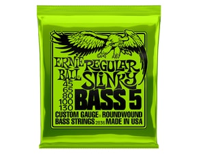 2836 Ernie Ball Regular Slinky 5-string Bass Nickel Wound .045 - .130