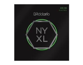 D´Addario NYXL0838 Nickel Wound Electric Strings Extra Super Light .08-.038 struny na elektrickou kytaru